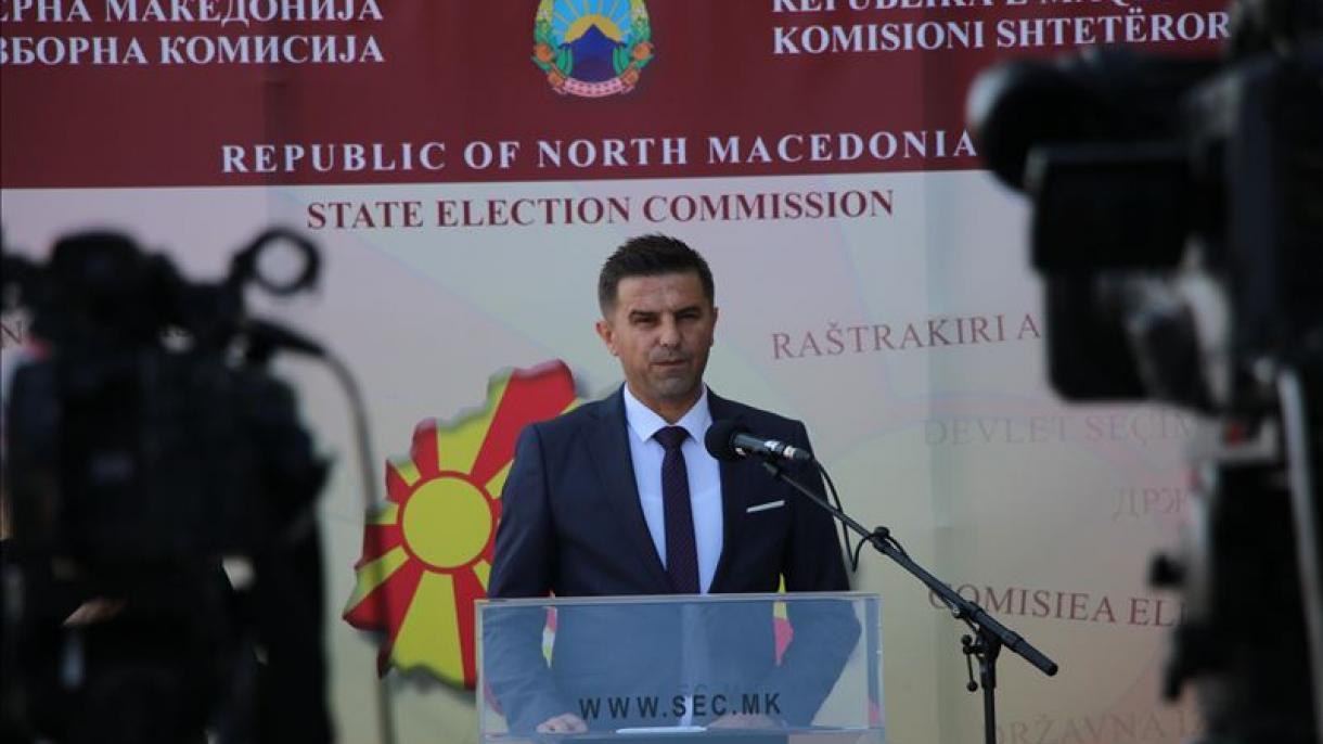 K. Makedonya'da oy verme işlemi salgın nedeniyle ilk defa 3 güne yayıldı