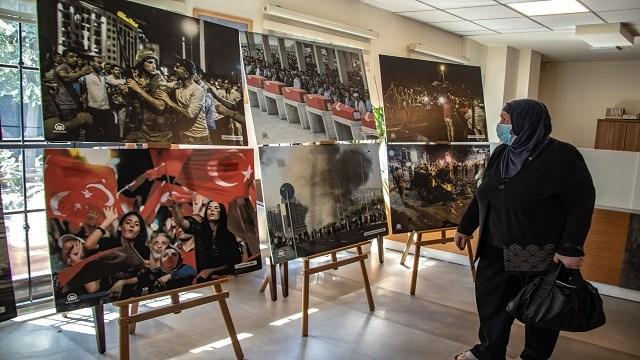 Prizren'de AA'nın darbe girişimi fotoğrafları sergileniyor