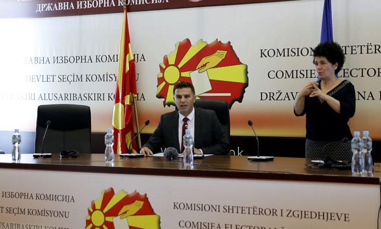 K. Makedonya'da 3 gün sürecek seçimler başladı