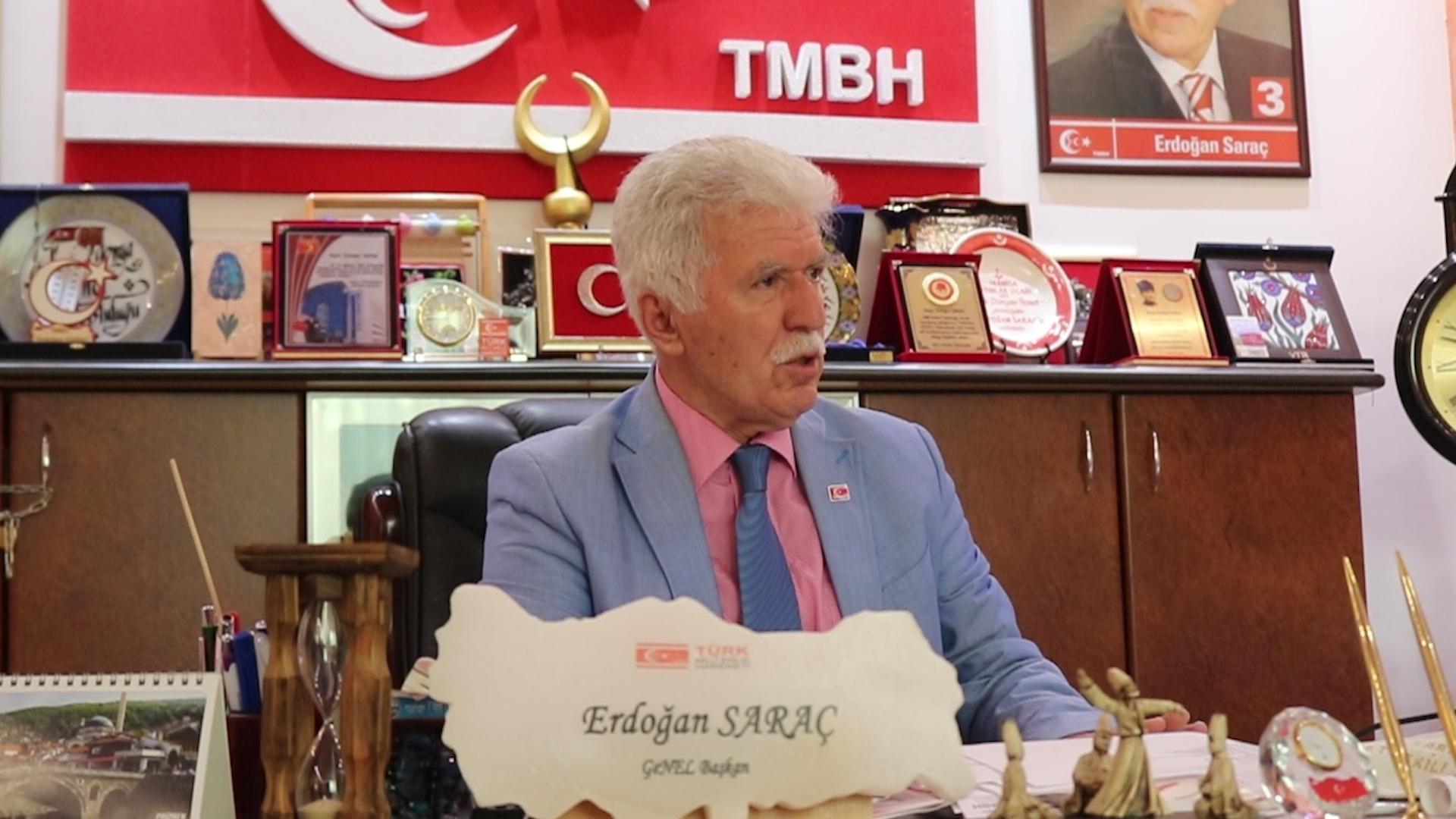 """""""TMBH, Makedonya'daki Türklerin milli refleksi, vicdanı ve umududur"""""""