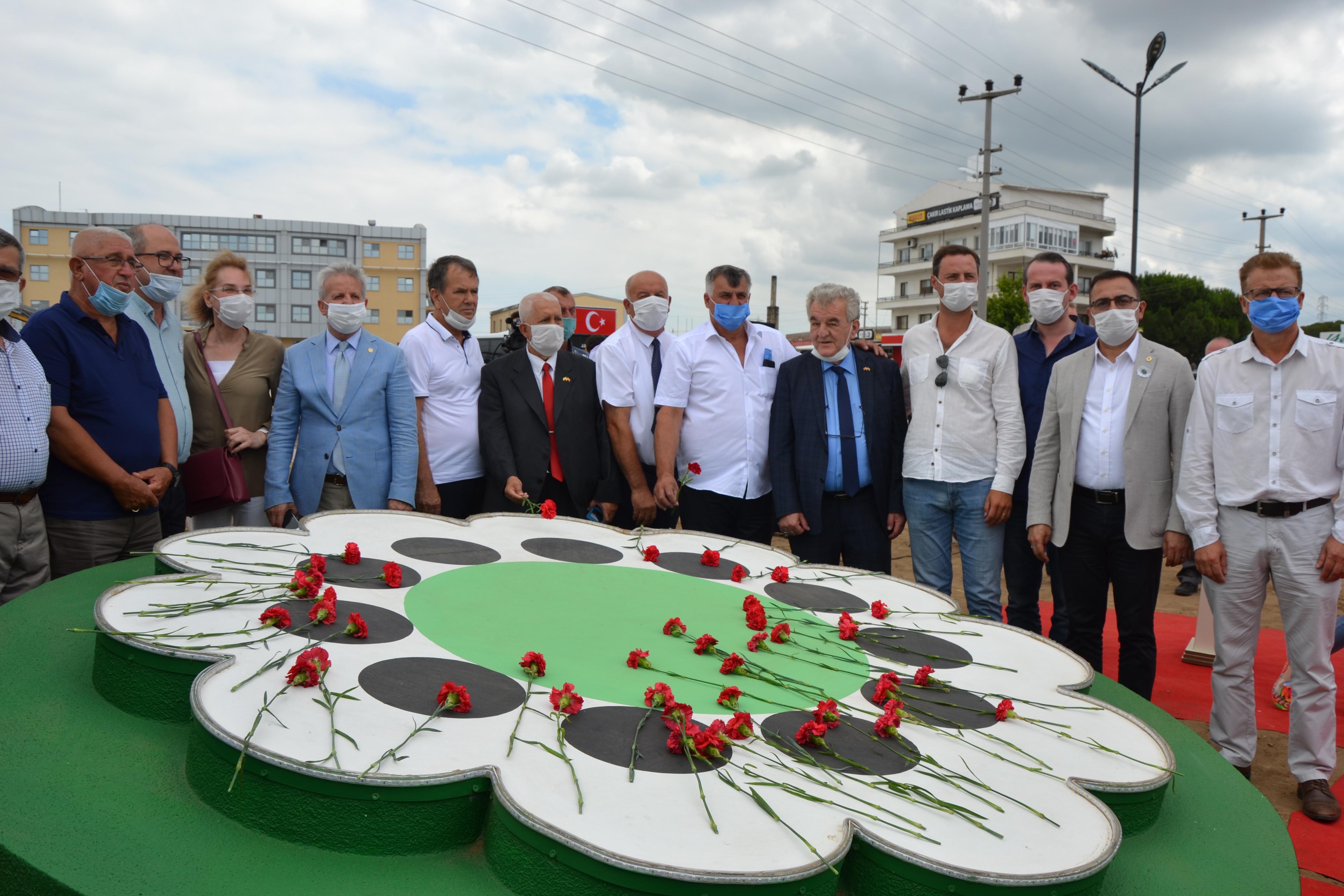 Çanakkale'de Srebrenitsa Anıtı törenle açıldı