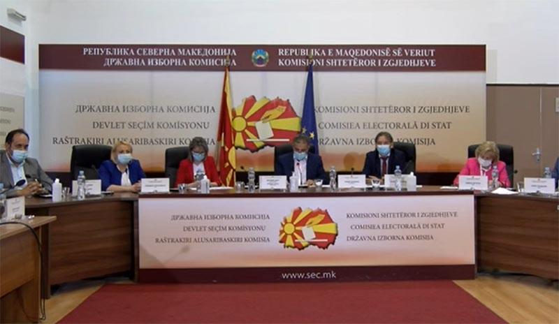 Kuzey Makedonya'da resmi olmayan seçim sonuçları açıklandı