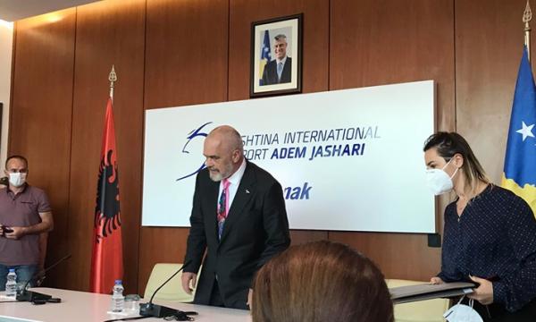 Arnavutluk Başbakanı Rama Kosova ziyaretini tamamladı