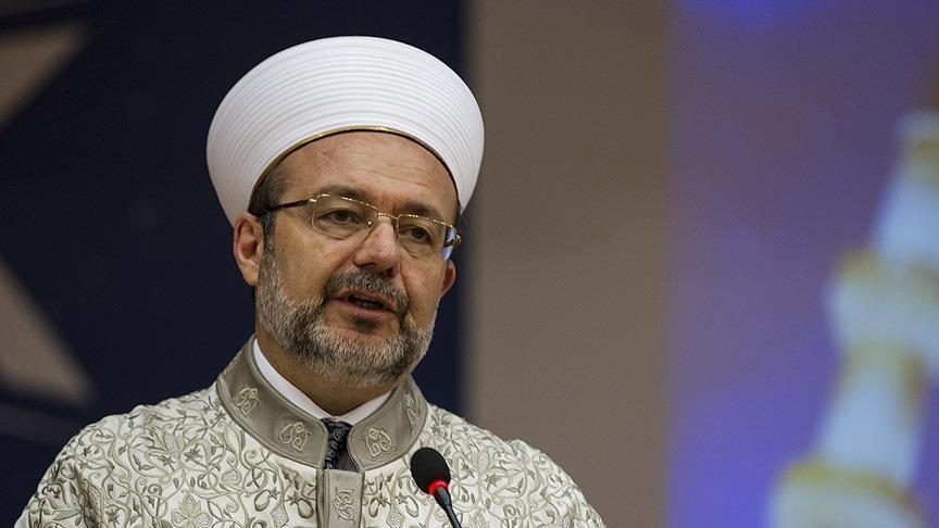 Mehmet Görmez'den 'Ayasofya' açıklaması