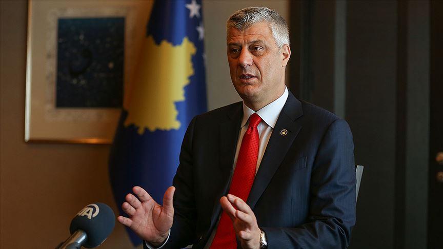 Kosova Cumhurbaşkanı Thaçi, Lahey'de Kosova Özel Savcılığı'nda ifade verecek