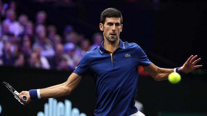 Sırp tenisçi Djokovic'in koronavirüs testi negatif çıktı