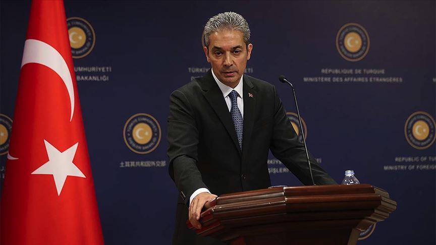Türkiye Dışişleri Bakanlığı Sözcüsünden Yunanistan'a Doğu Akdeniz tepkisi