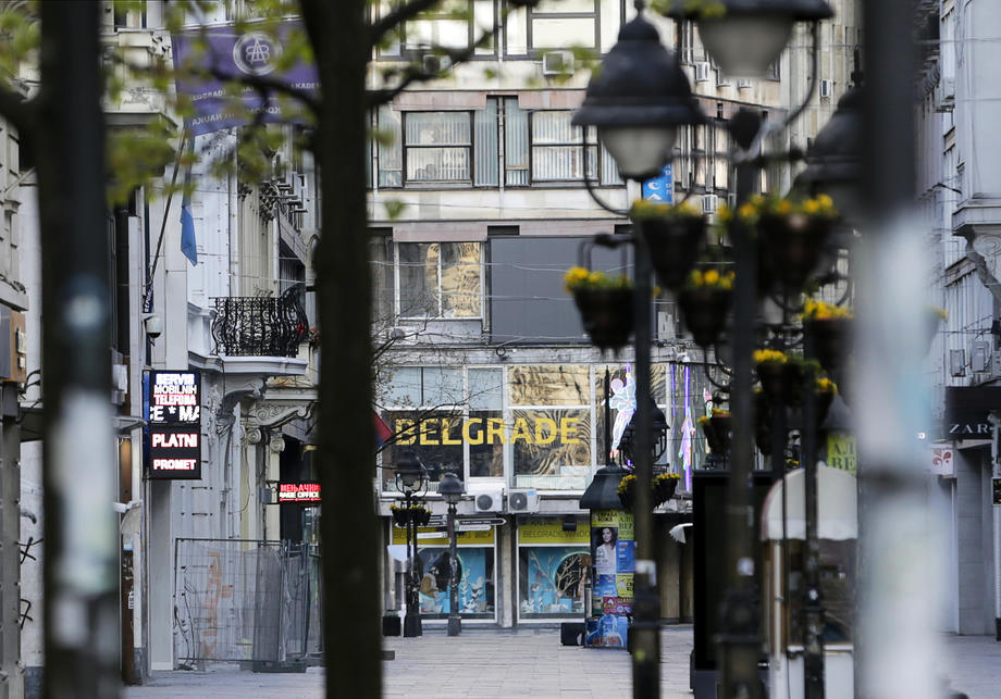 Belgrad'da olağanüstü hal ilan edildi
