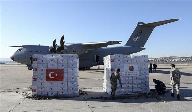Türkiye'den Sırbistan'a Kovid-19 sürecinde tıbbi malzeme yardımı