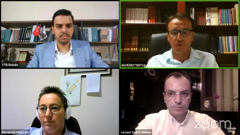 """YTB'den """"Batı Trakya Türk Davası'nda Dr. Sadık Ahmet'in Yeri"""" Online Paneli"""