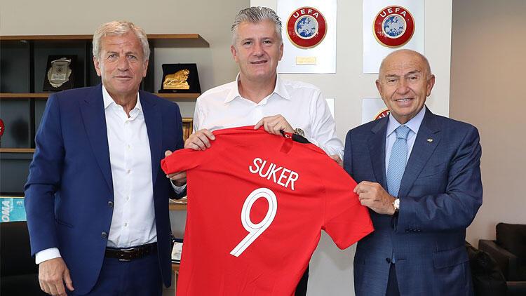 Hırvatistan Futbol Federasyonu Başkanı Suker'den TFF'ye ziyaret