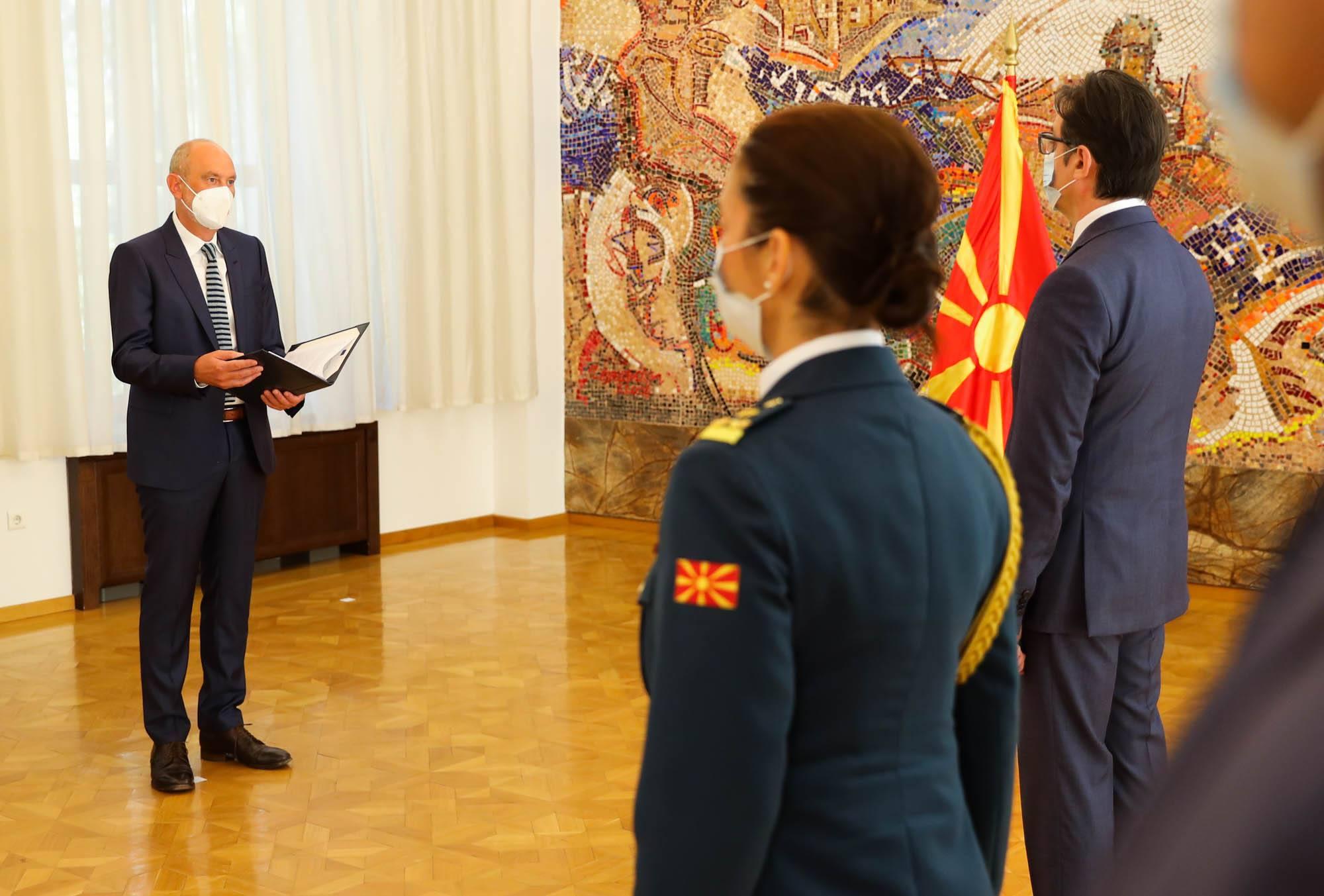 Yeni AB Büyükelçisi Ger göreve başladı