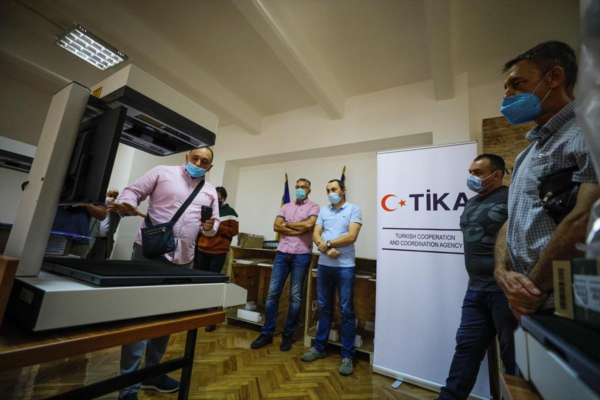 Bosna Hersek'teki arşiv belgelerinin sanal ortama aktarılmasına TİKA desteği