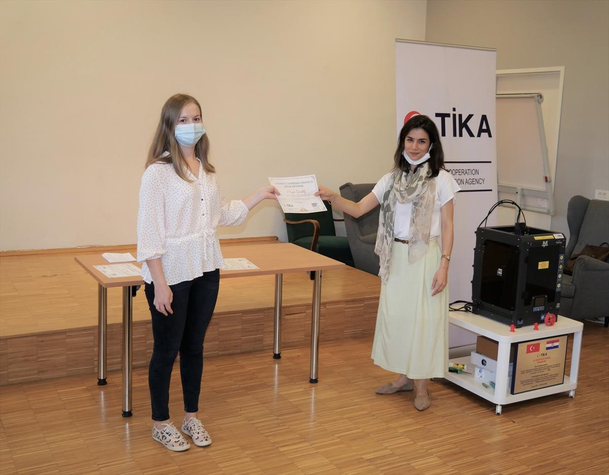 TİKA'dan Hırvatistan'da 3 boyutlu modelleme ve yazıcı eğitimi