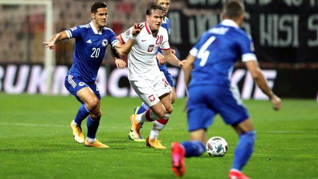 Cüneyt Çakır'ın yönettiği maçta Polonya Bosna Hersek'i kazandı