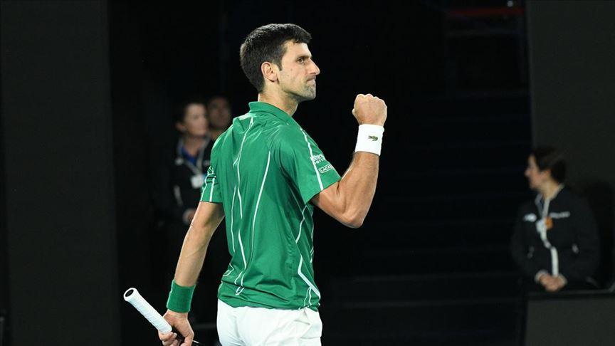 Sırp raket Novak Djokovic, Roma Açık Tenis Turnuvası'nda finale yükseldi