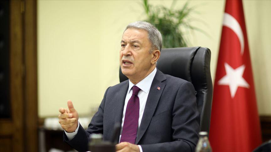 Milli Savunma Bakanı Hulusi Akar: Azerbaycanlı kardeşlerimizin öz topraklarını savunmasında yanlarındayız