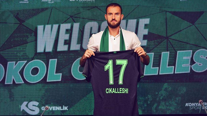 Konyaspor, Arnavut forvet Sokol Cikalleshi'yi transfer etti