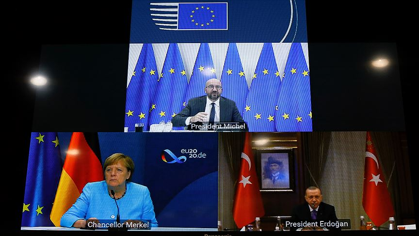Erdoğan, Michel ve Merkel görüştü: Türkiye ve Yunanistan istikşafi görüşmelere başlamaya hazır