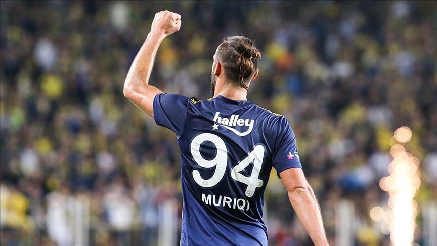 Kosovalı futbolcu Vedat Muric'ten Fenerbahçe'ye veda mesajı