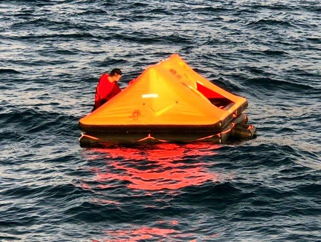 Yunan sahil güvenliği göçmenleri yine Türk karasularına bıraktı