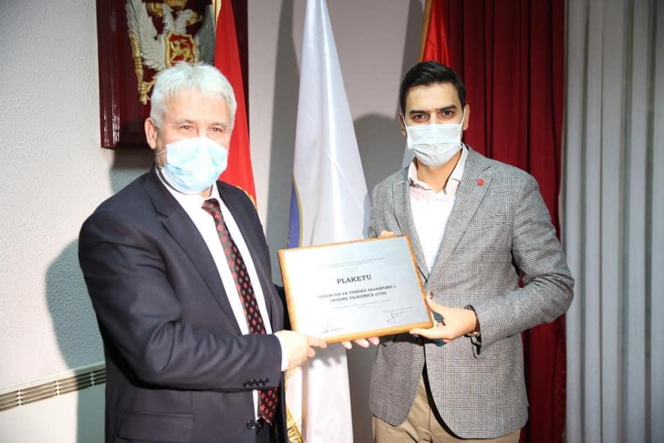 YTB, Rojaye Belediye Ödülü'ne layık görüldü
