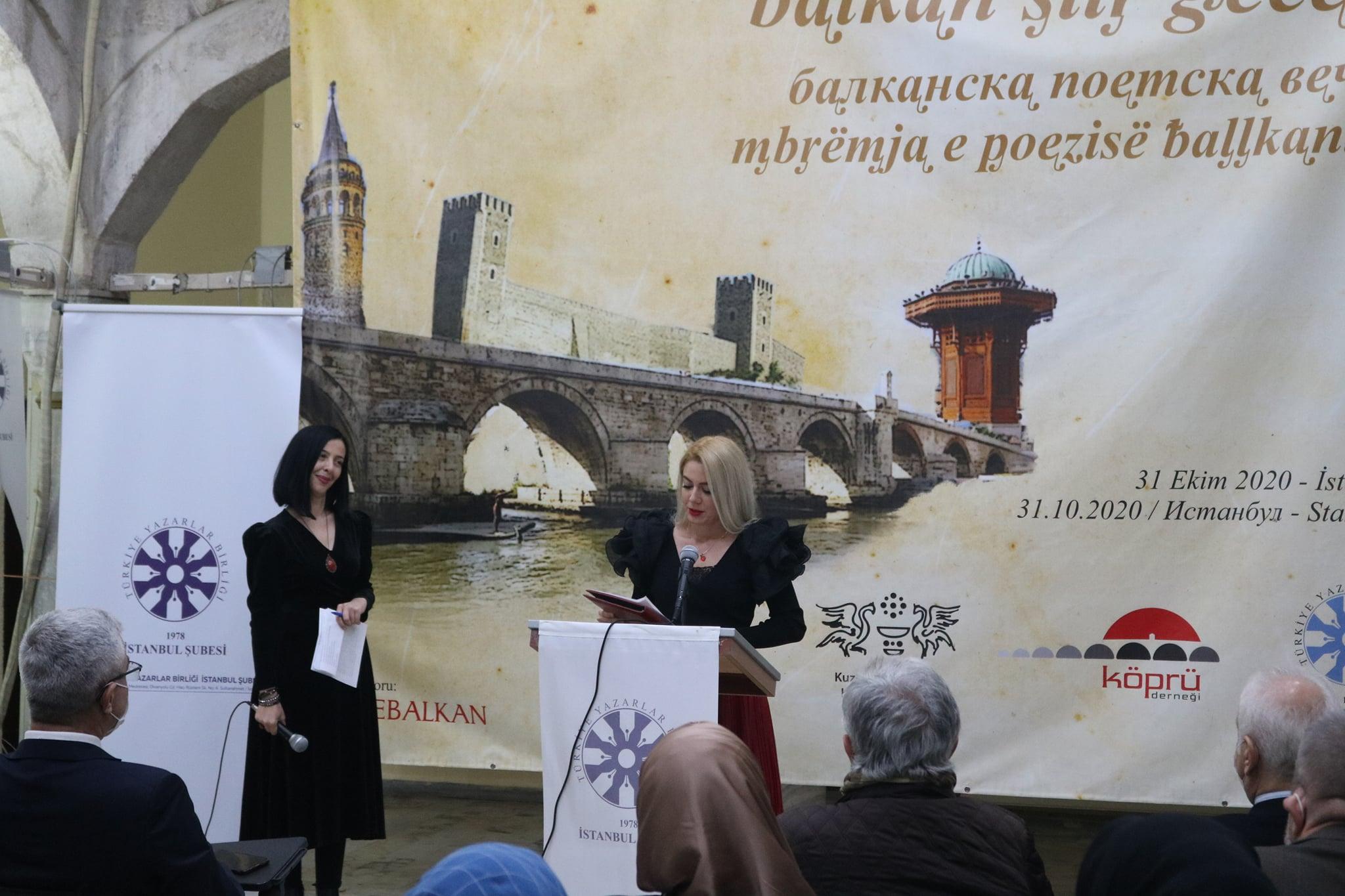 Köprü Derneği, Balkan kökenli şairleri İstanbul'da buluşturdu