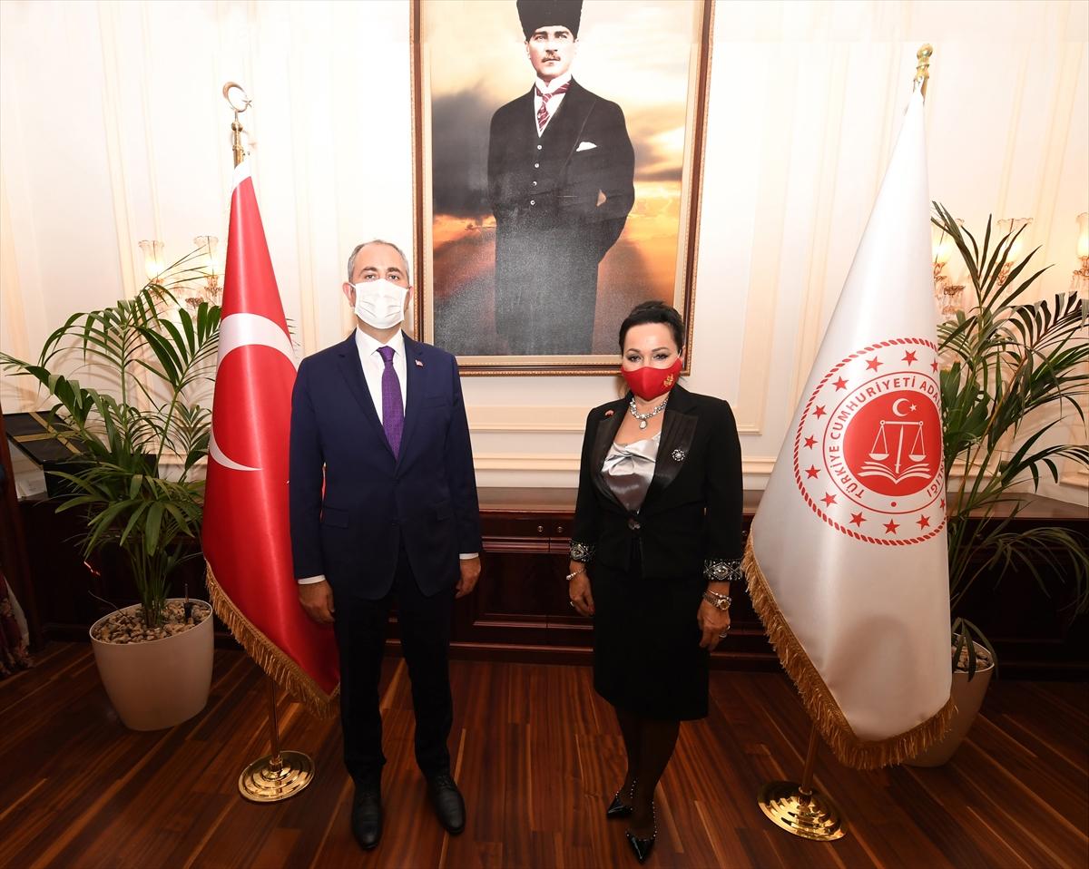 Türkiey Adalet Bakanı Gül, Karadağ Yüksek Mahkeme Başkanı ve üyelerini kabul etti