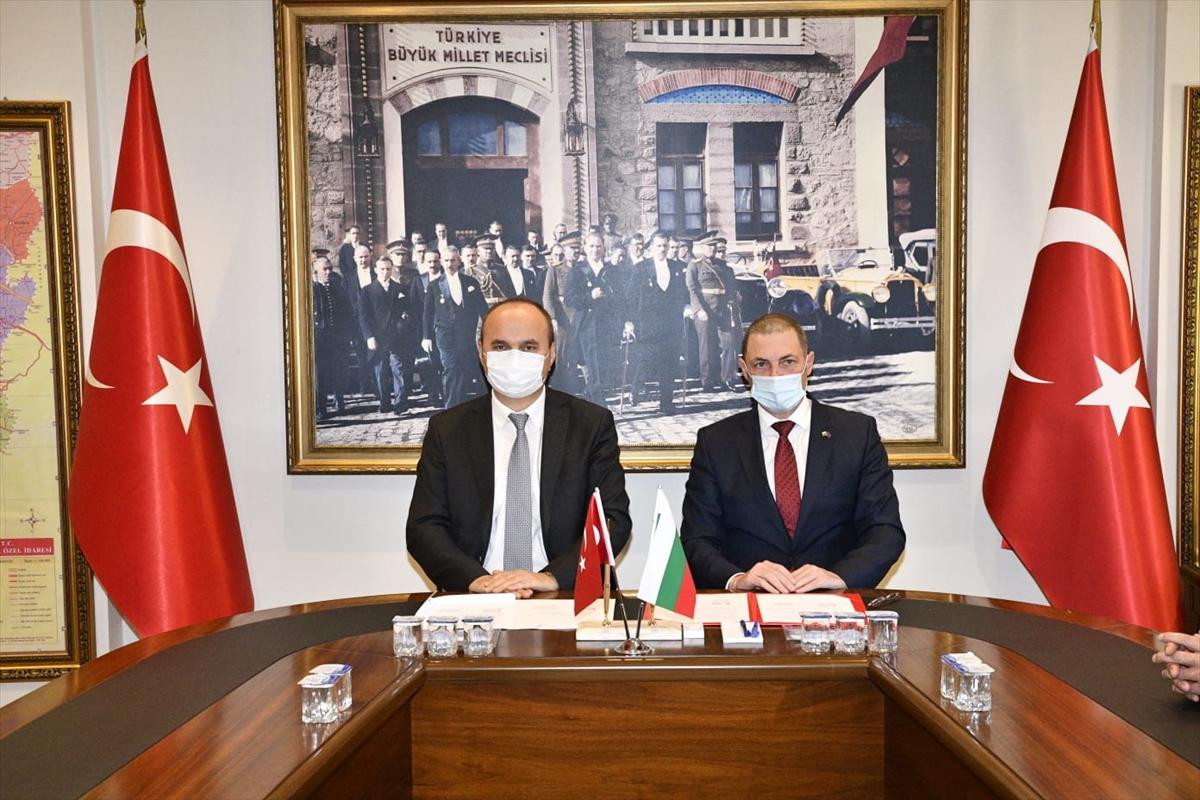 Edirne ve Bulgaristan arasındaki ticari ilişkiler artıyor