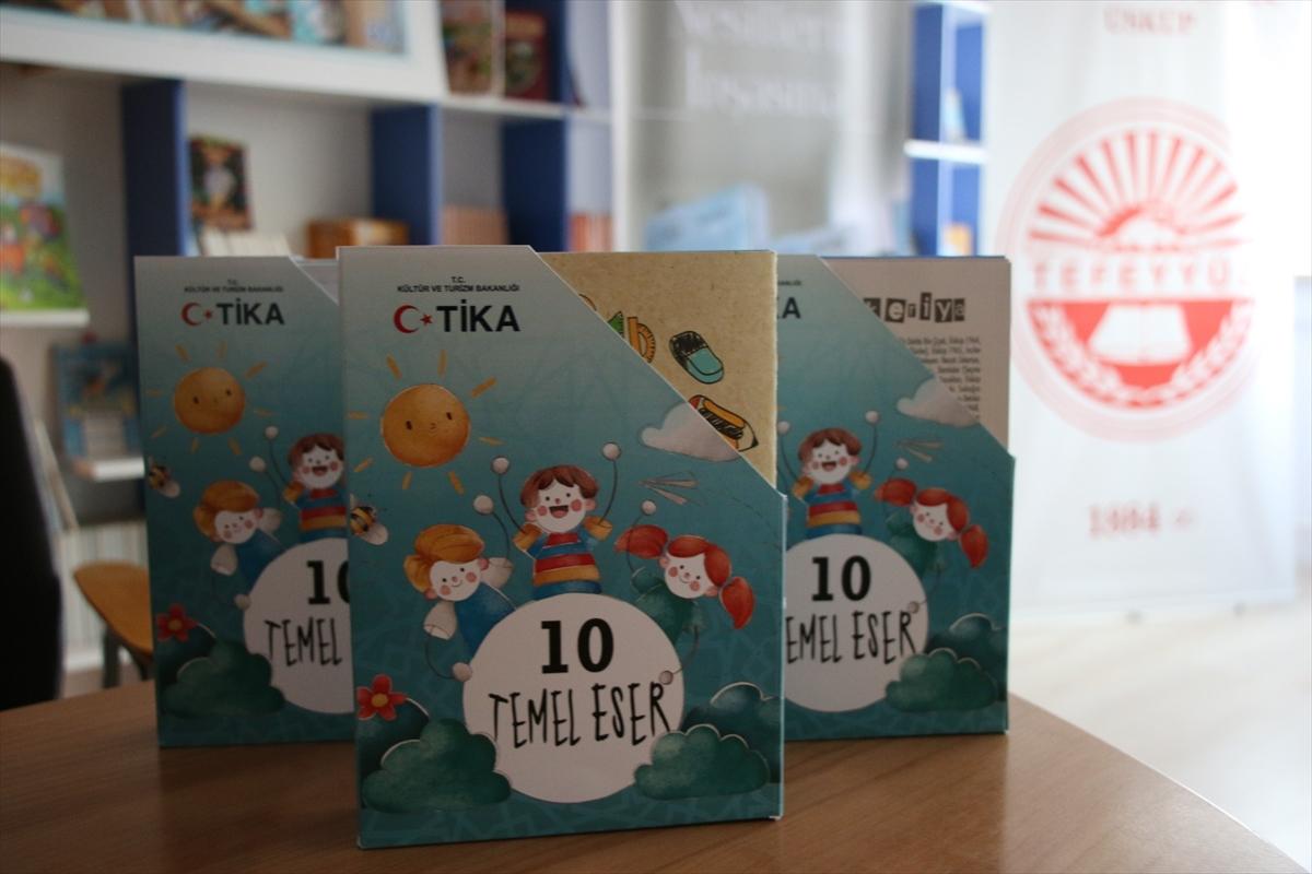TİKA'dan Kuzey Makedonya'da Türkçe eğitim veren okullara destek