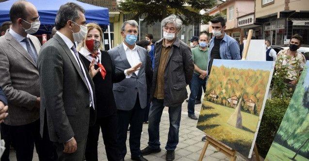 Bulgar ve Makedonyalı ressamlar Kastamonu'daki Resim Çalıştayı sergisine katıldı