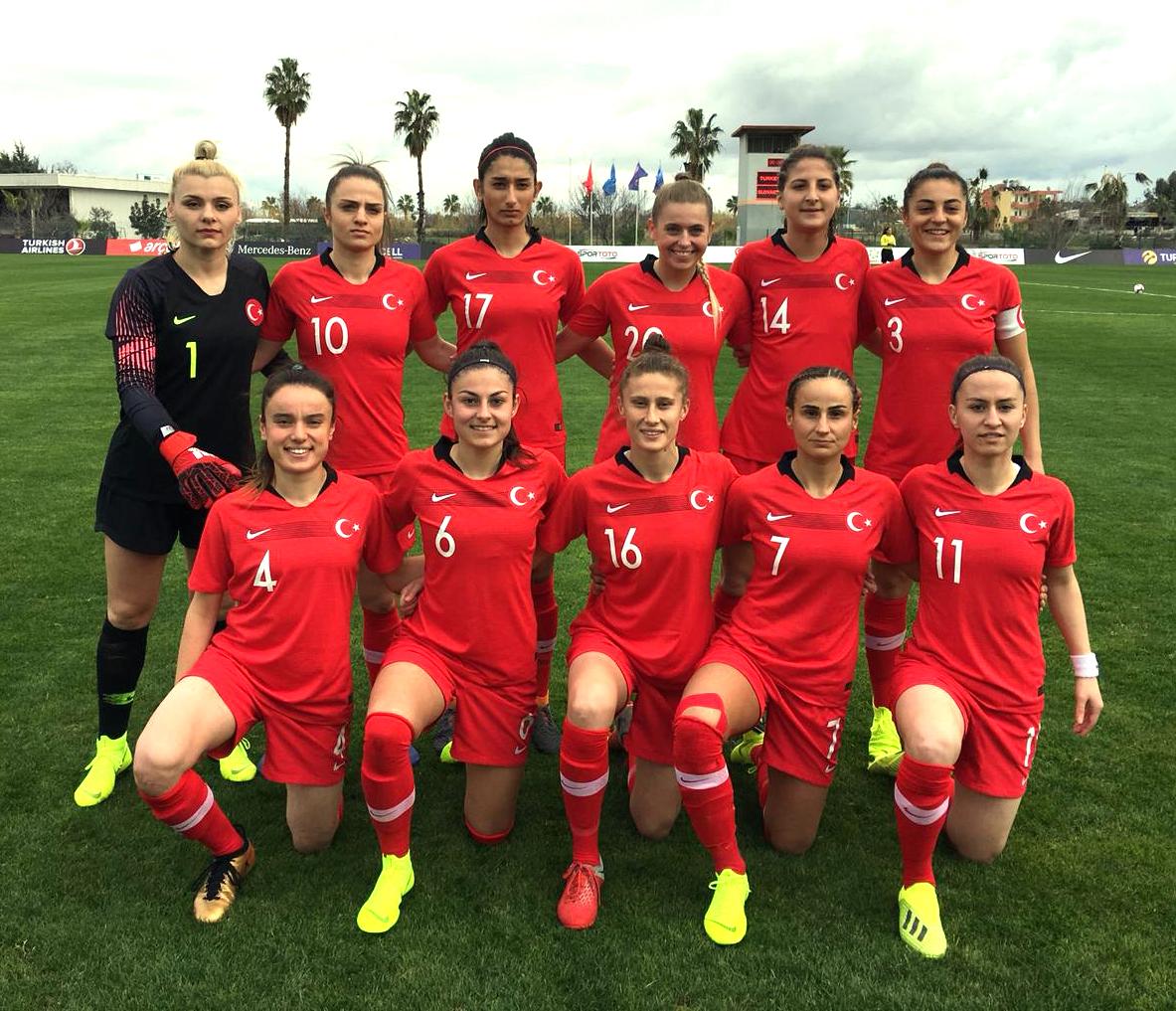 Türkiye Milli Kadın Futbol Takımı, Kosova maçının hazırlıklarını tamamladı