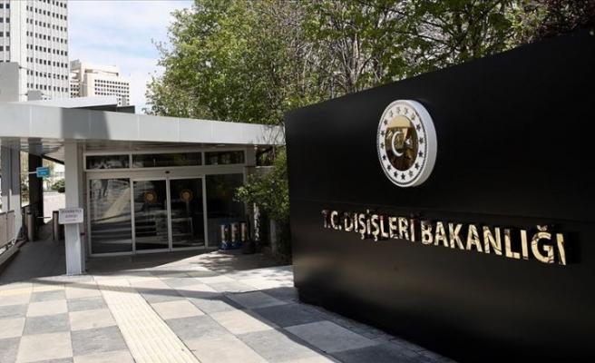 Türkiye Dışişleri Bakanlığından Yunanistan Dışişleri Bakanı Dendias'a cevap
