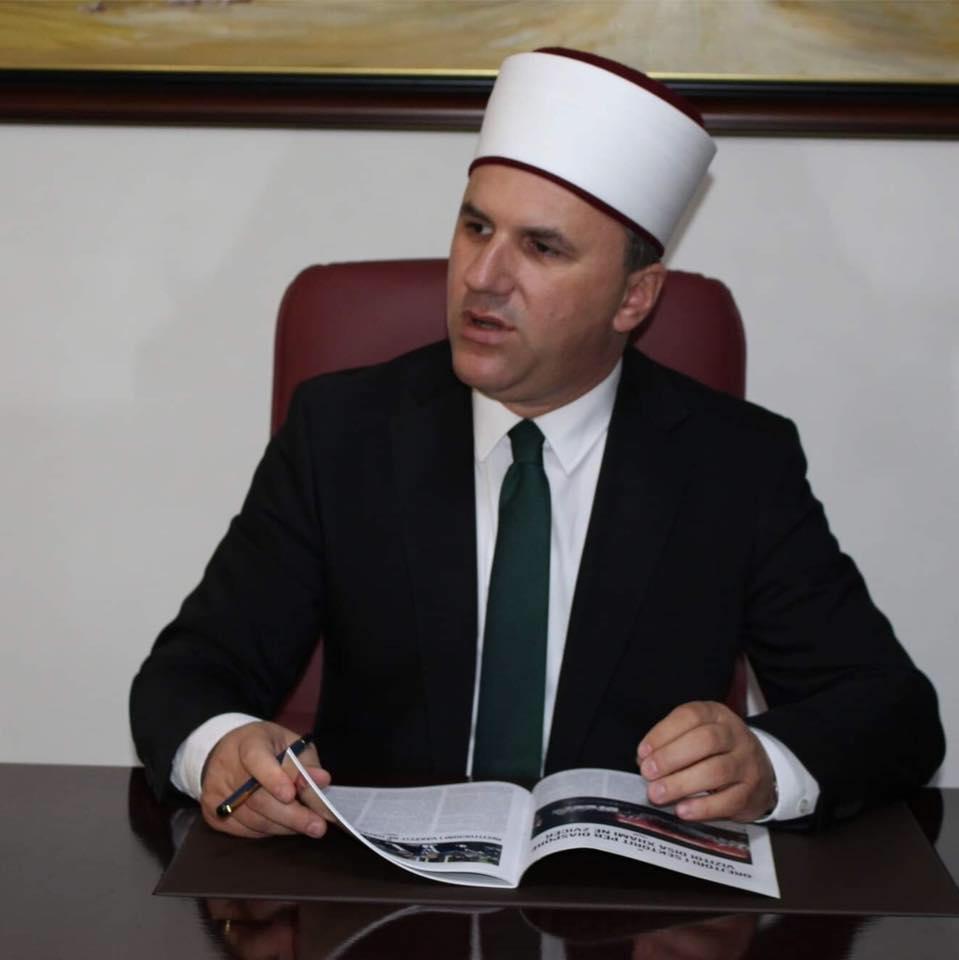 Kalkandelen Müftüsü Nesimi, İslam Birliği Başkanlığı'na aday oldu