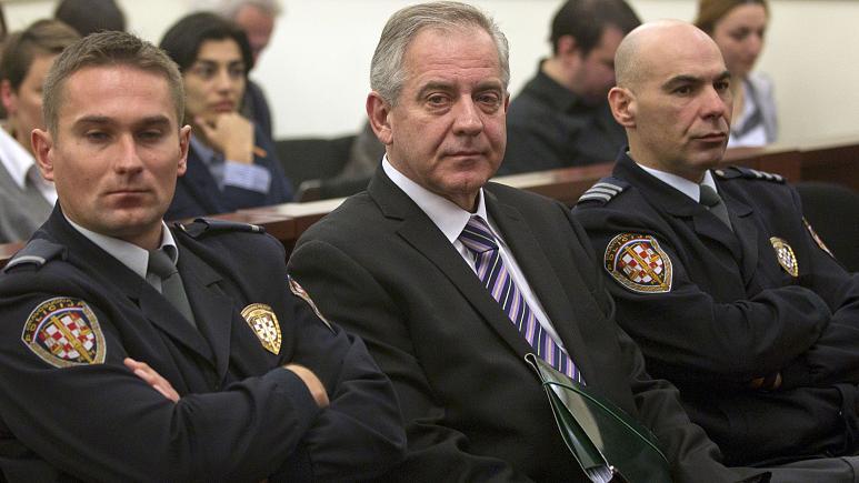 Eski Hırvat Başbakan Sanader'e 8 yıl hapis cezası
