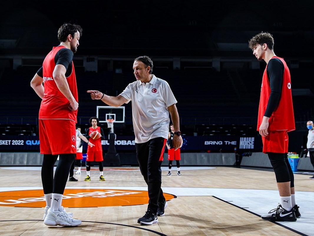 Türkiye A Milli Basketbol Takımı, Hırvatistan karşısında galibiyete inanıyor