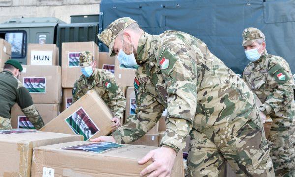 Macaristan'dan Kosova'ya Kovid-19 yardımı