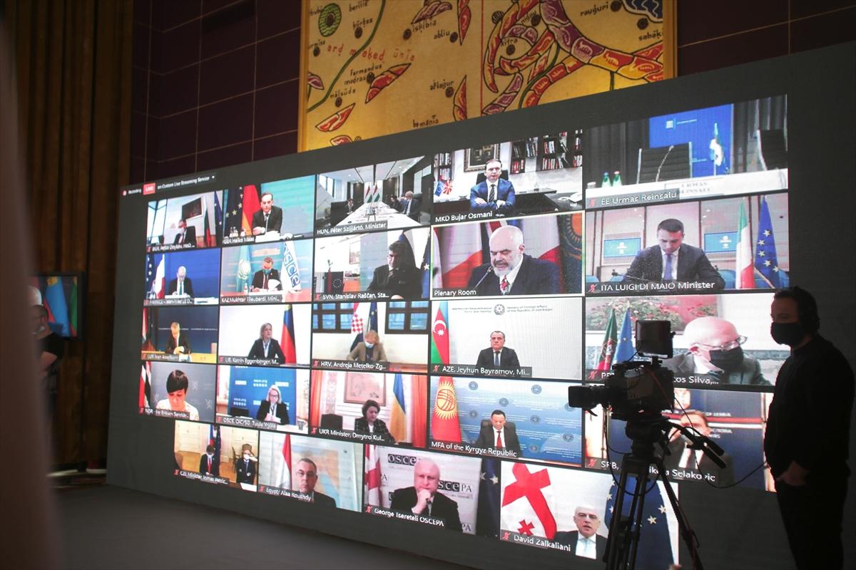AGİT'in Tiran'da düzenlenen 27. Bakanlar Konseyi toplantısı sona erdi
