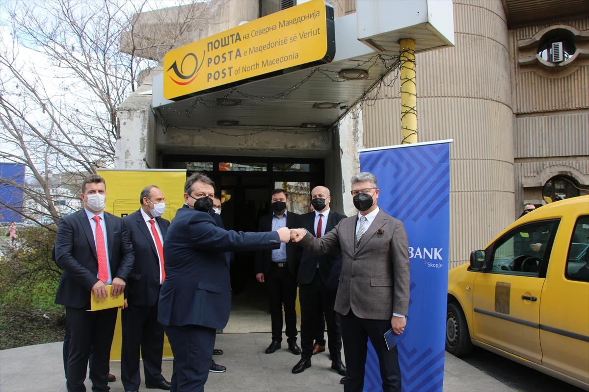 Halkbank ile Kuzey Makedonya Posta iş birliği anlaşması imzaladı