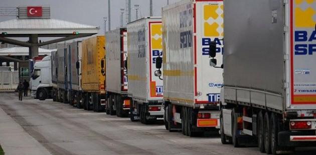 Taşımacılar, Bulgaristan-Türkiye sınırındaki geçiş sorunlarını protesto etti