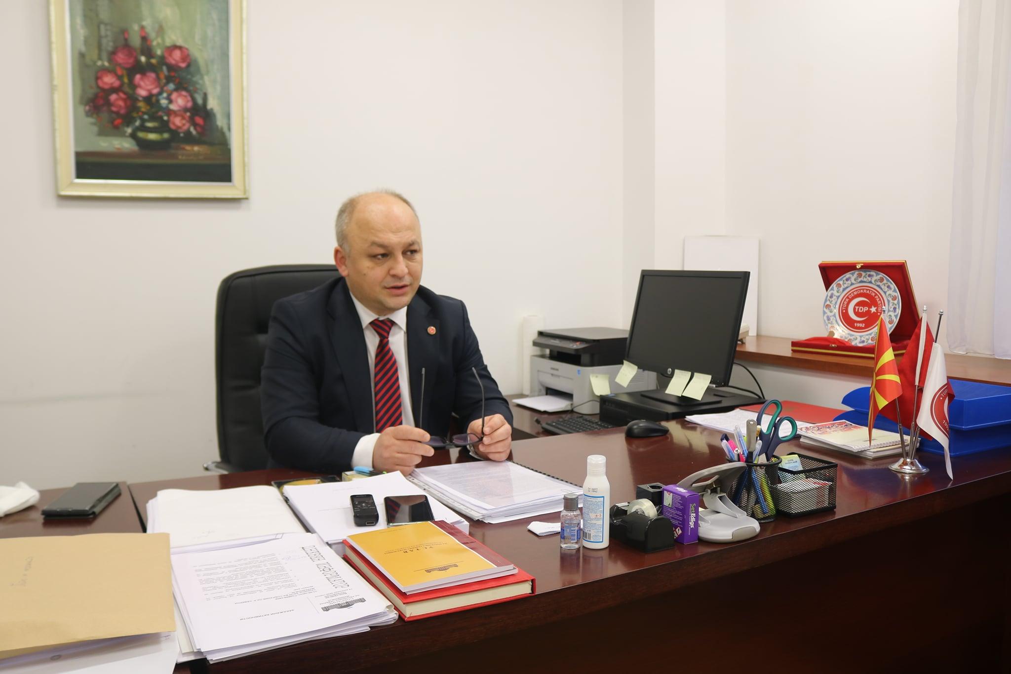 TDP milletvekili İlyas: Bu (nüfus sayımı) bizim için seçimlerden daha önemli bir mesele