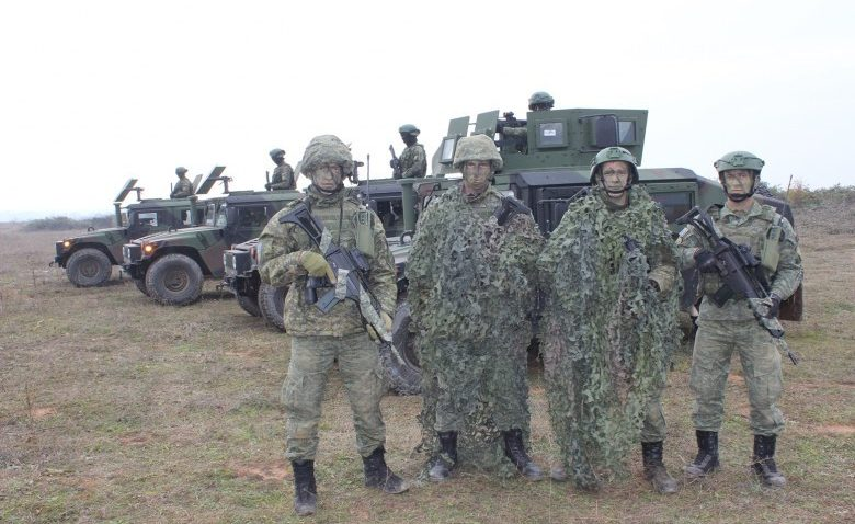 Kosova Ordusu'ndan başarılı tatbikat