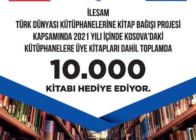 İLESAM, Kosova'ya 10 bin kitap bağışlayacak