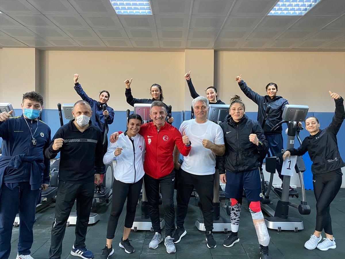 Türkiye Olimpik Kadın Boks Milli Takımı Sırbistan yolcusu