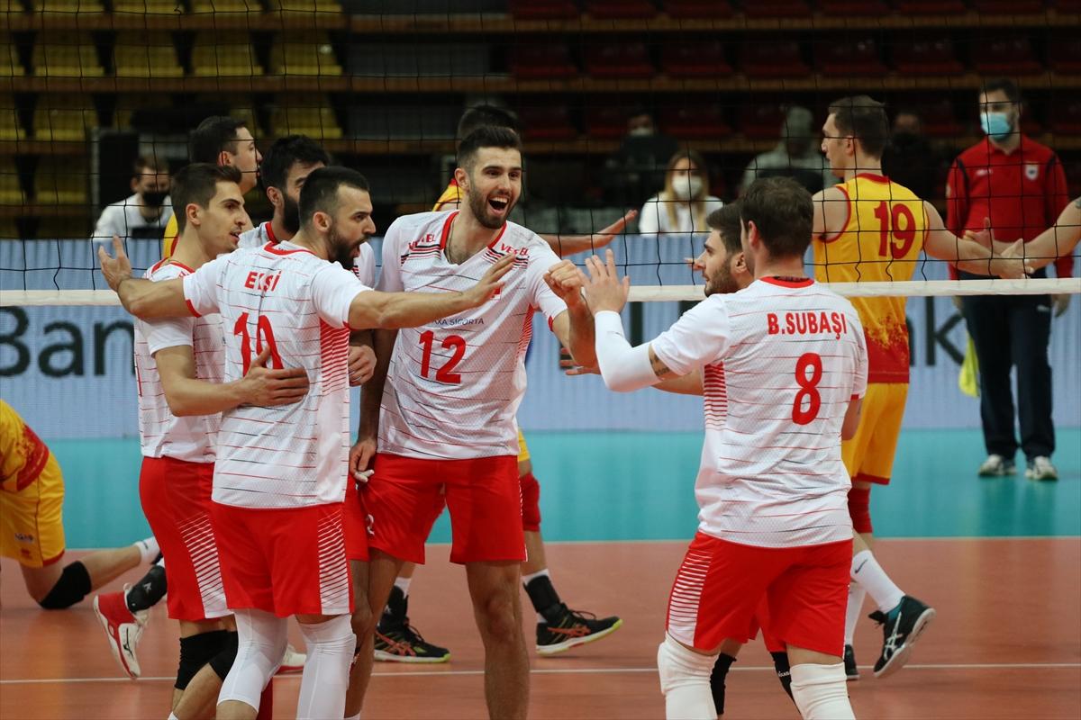 Türkiye, ev sahibi K. Makedonya'yı 3-1 mağlup etti
