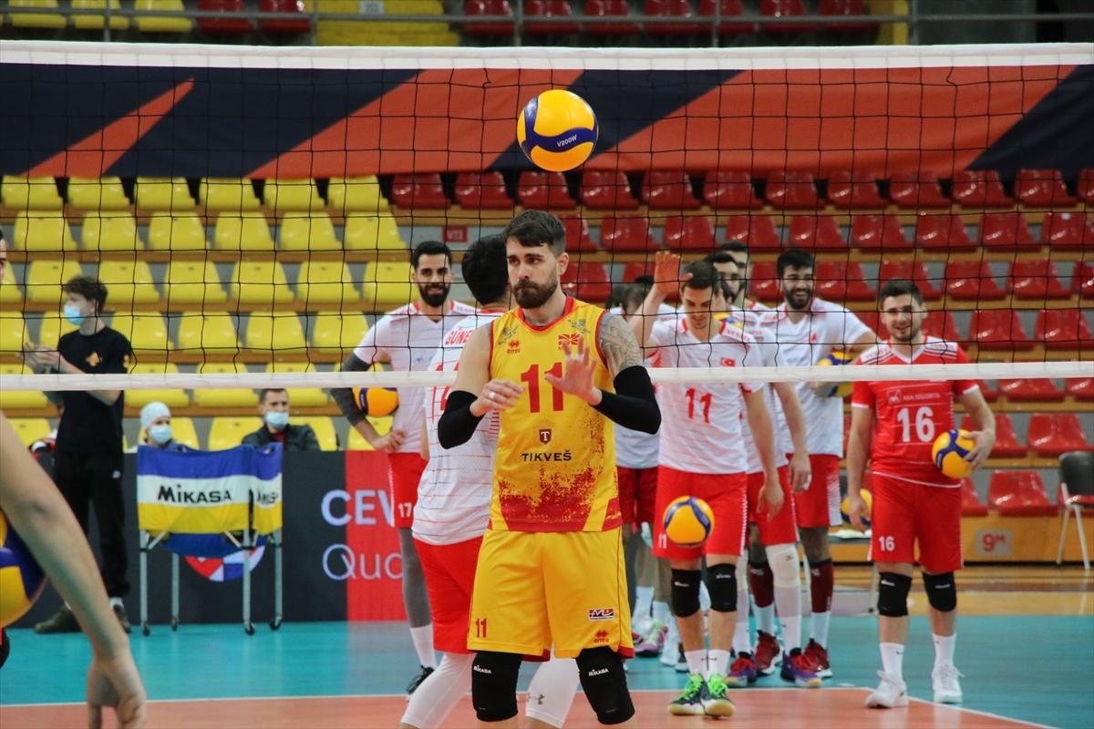 Türkiye ve Kuzey Makedonya, Avrupa Şampiyonası'na gitmeye hak kazandı