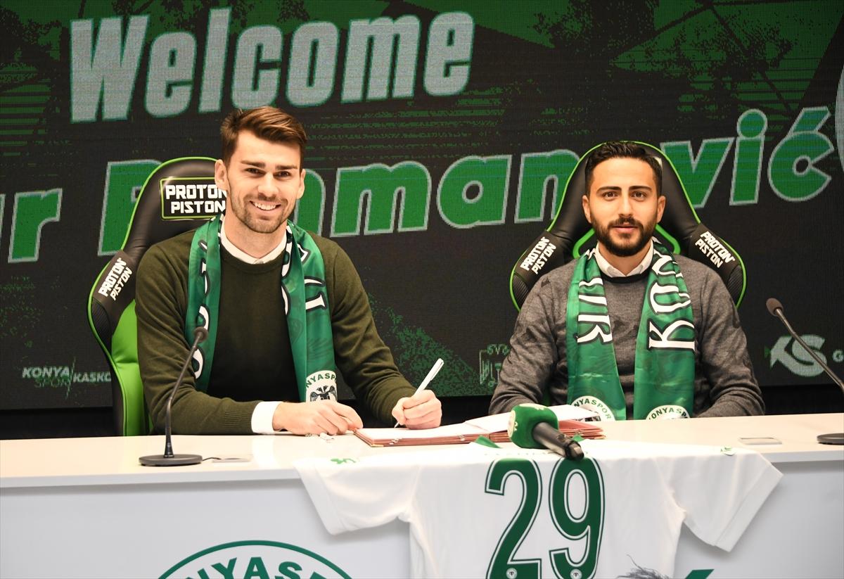 Konyaspor, Boşnak futbolcu Rahmanovic'i transfer etti