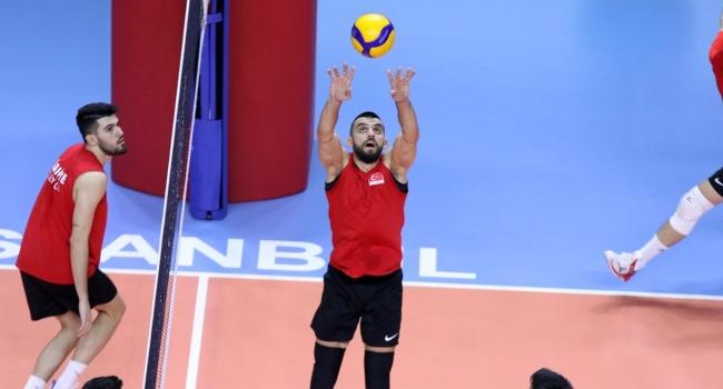 Türkiye A Milli Erkek Voleybol Takımı, Kuzey Makedonya'ya geldi
