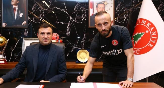 Ümraniyespor, Bosna Hersekli futbolcu Vrsayevic'i transfer etti