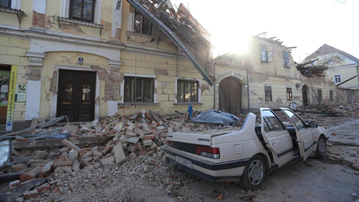 Türkiye'den Hırvatistan'a yardım